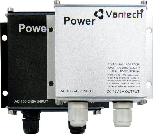POWER SWITCHING ADAPTER 12V-3A VANTECH PSA-02H