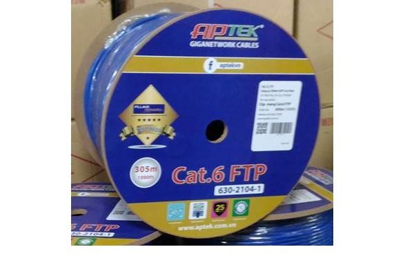 Cáp mạng APTEK CAT.6 FTP (305m / Lần)