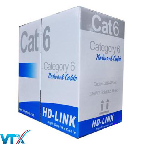 Cáp mạng HD-Link CAT6 UTP CCA