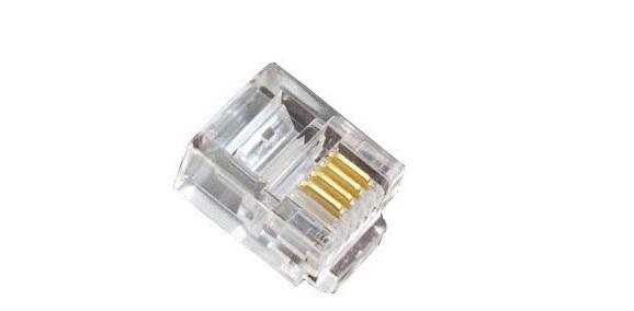 Đầu cáp điện thoại RJ11 HD-Link