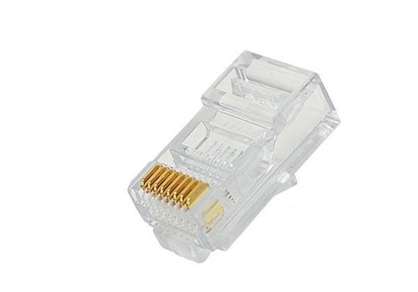 Đầu cáp mạng- cắm mô-đun   VCOM RJ45 (K450001)