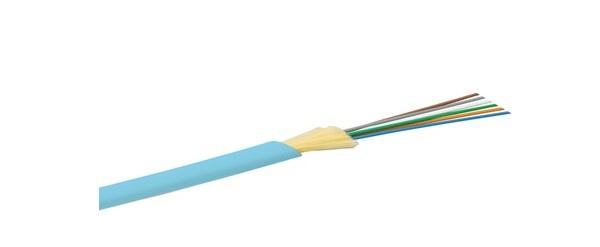 Chế độ cáp quang đa trong nhà 8 lõi OM3 Alantek 3XG-553008-YLS