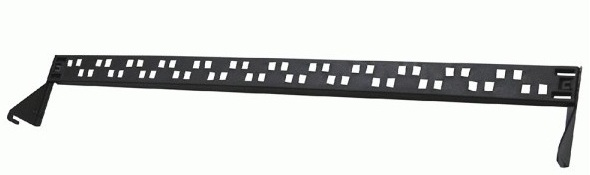 Cable fixed shelf for 24 port Dintek patch panel (1499-00005)