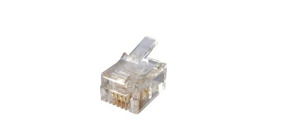 Đầu điện thoại RJ11 6P4C HOSIWELL 21400