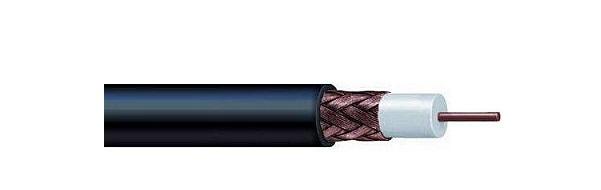 Cáp đồng là RG59 Khiên tiêu chuẩn VIVANCO VCRG596CPFPE03