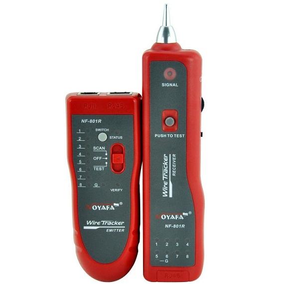 Máy kiểm tra cáp mạng và điện thoại NOYAFA NF801R