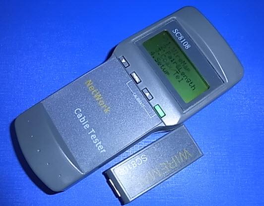 Máy kiểm tra mạng cáp và điện thoại di động SC8108
