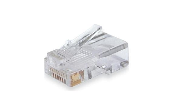 Đầu RJ CAT5e UTP HDTEC (Mạ vàng)