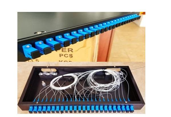Bảng điều khiển Patch Rack Mount 16 ức (SC / UPC đầy đủ)
