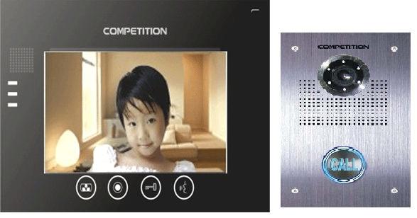 Bộ màn hình màu chuông cửa COMPETITION MT-670C-CK2S1/ SAC-551C