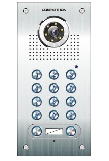 Camera chuông cửa màu COMPETITION SAC-562C/CK2