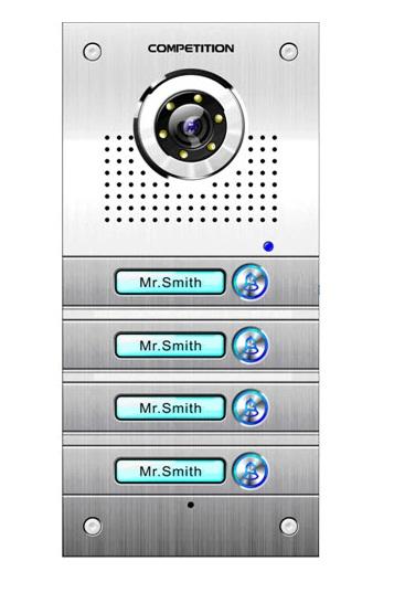 Camera chuông cửa màu COMPETITION SAC-563C/CK3