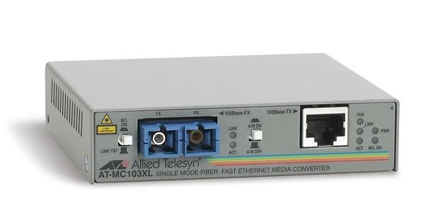 Bộ chuyển đổi phương tiện 100TX sang 100FX (SC) ALLIED ĐIỆN THOẠI AT-MC103XL-60