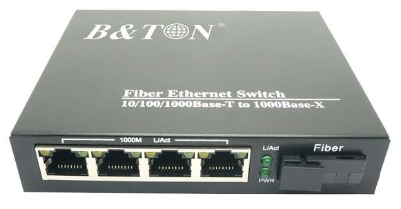 Chuyển đổi truyền thông Quang-Điện Chuyển đổi không được quản lý BTON BT-914GS-20A / B