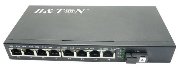 Chuyển đổi truyền thông Quang-Điện Truyền chuyển đổi không được quản lý BTON BT-928GS-20A / B