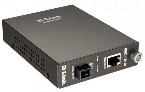 Bộ chuyển đổi đa phương tiện 1000Base-TX sang 1000Base-LX D-Link DMC-1910T / A9A