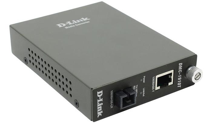 Bộ chuyển đổi đa phương tiện 1000Base-TX sang 1000Base-LX D-Link DMC-1910R / A9A