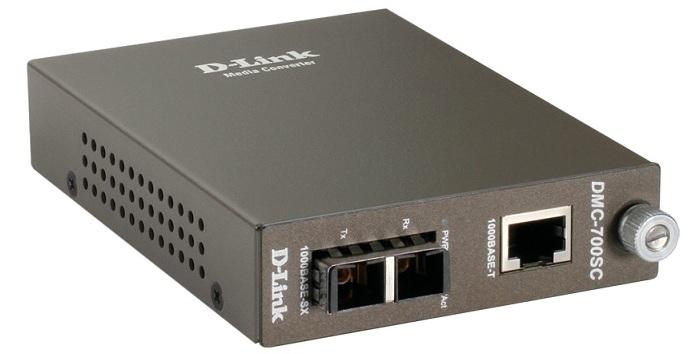Bộ chuyển đổi đa phương tiện 1000Base-TX (UTP) sang 1000Base-SX (SC) D-Link DMC-700SC / E