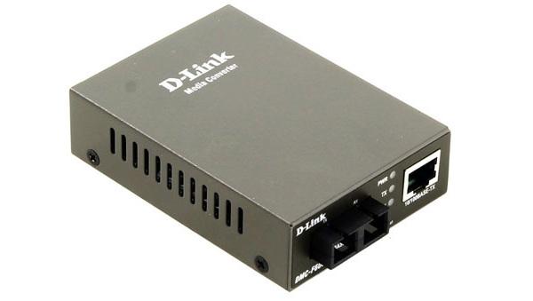 Bộ chuyển đổi đa phương thức 100Base-TX sang 100Base-FX (SC) D-Link DMC-F60SC / E