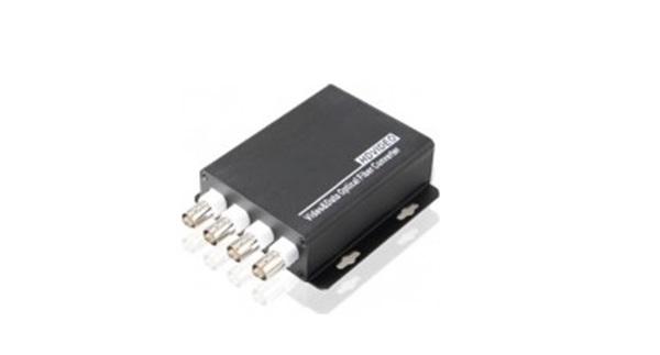 Chuyển đổi video chuyển đổi HDTEC 4 cổng BNC + RS485 Dữ liệu Cho Camera Analog