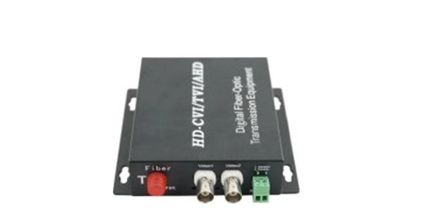 Chuyển đổi dữ liệu Quang HDTEC Video Converter 2 Cổng BNC + RS485 Dữ liệu