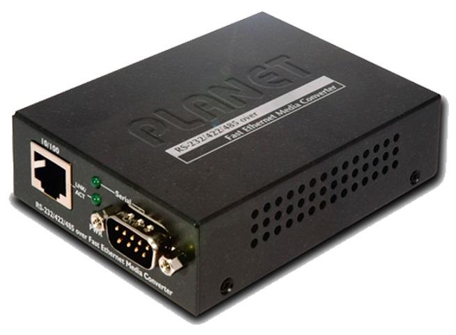 RS-232 / RS-422 / RS-485 qua Bộ chuyển đổi đa phương tiện Ethernet nhanh PLANET PLANET ICS-105A