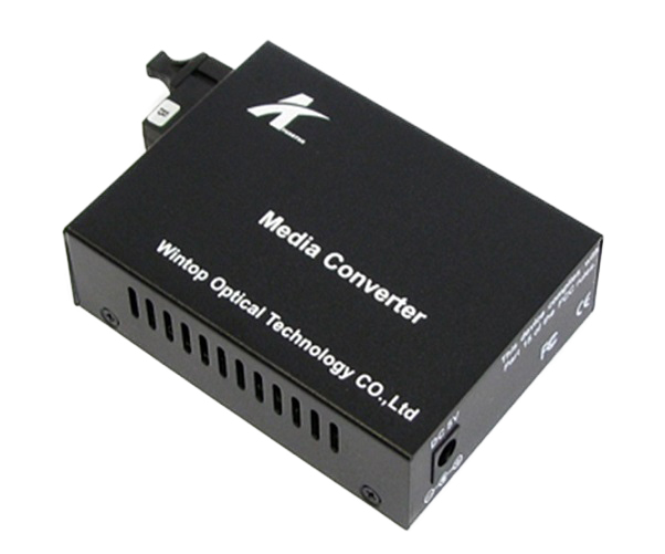 Optical Converter - Power Media Converter WINTOP YT-8110GSB-11-80B-AS