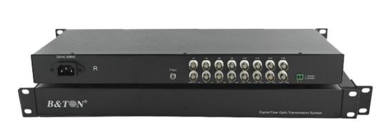 Chuyển đổi Quang-điện Video 16 kênh Converter BTON BT-16V1DF-T/R