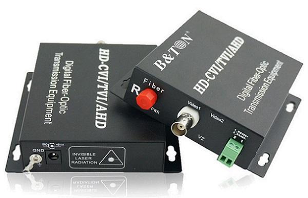 Chuyển đổi âm thanh Quang-điện tử và Âm thanh 1 Bộ chuyển đổi âm thanh BTON BT-1V1D1AF-T / R