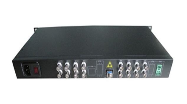 Chuyển đổi video chuyển đổi Quang-Điện 16 16 mạng NET-NO 16FHD 1D-T / R