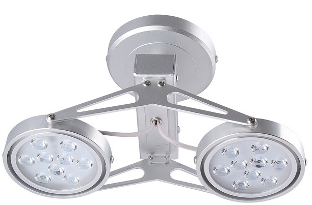 2x9W DUHAL AIC801 ceiling mount LED light