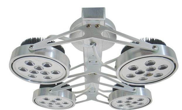 4x9W DUHAL AIC802 ceiling mount spotlight LED