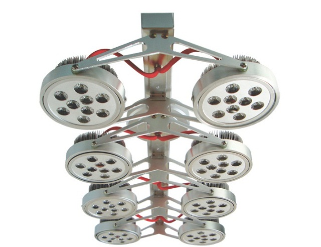 8x9W DUHAL AIC804 ceiling mount spotlight LED