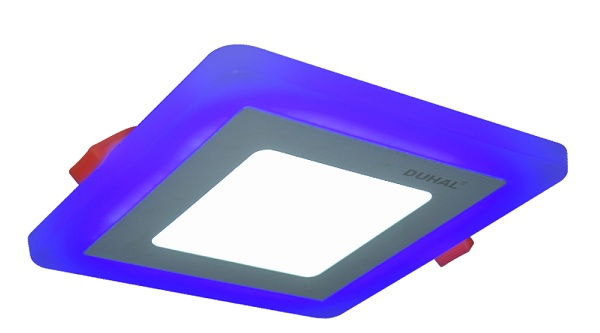 3W DUHAL DGV503B LED Panel light color