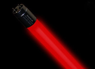 Red LED 6W DUDAL DHA801R LED light bulb