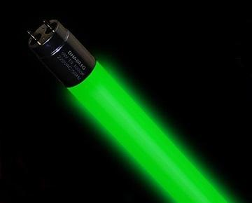 18W DUHAL DHA803G green LED light bulb