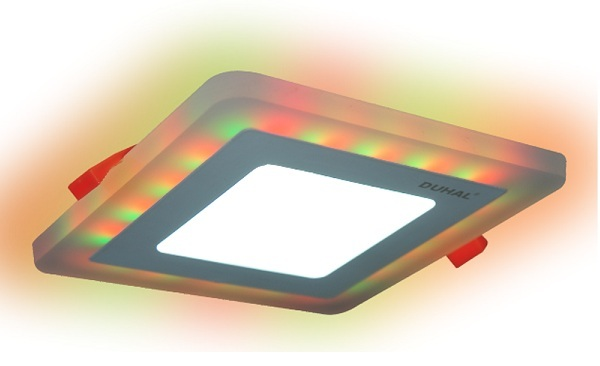 LED Panel light changes color 6W DUHAL DMV506