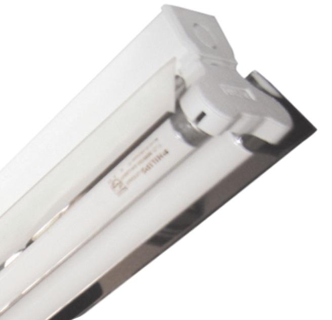 Đèn công nghiệp chóa phản quang 2x9W DUHAL LBB 220