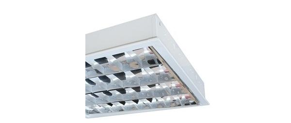 Máng đèn phản quang âm trần 4x18W DUHAL LCA 440