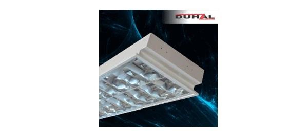 Máng đèn phản quang âm trần 2x18W DUHAL LCA 6240