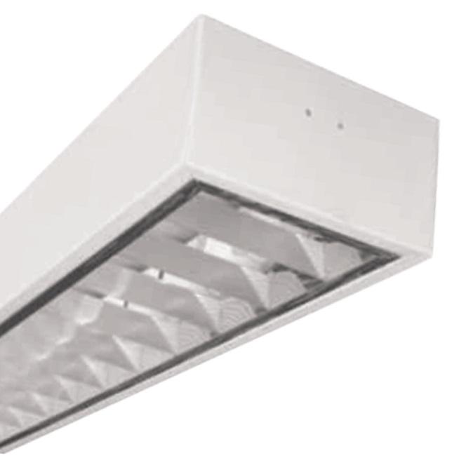 Máng đèn LED phản quang gắn nổi 1x9W DUHAL LDD 120
