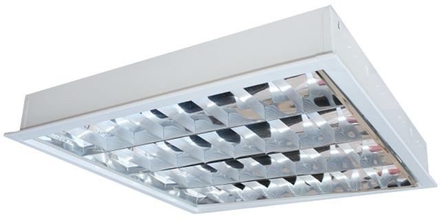 Máng đèn LED phản quang gắn âm trần 4x9W DUHAL LDD 420