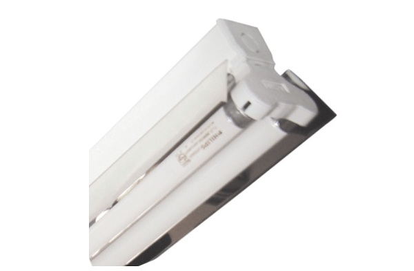 2x18W DUHAL LDH 240 reflector industrial lamp