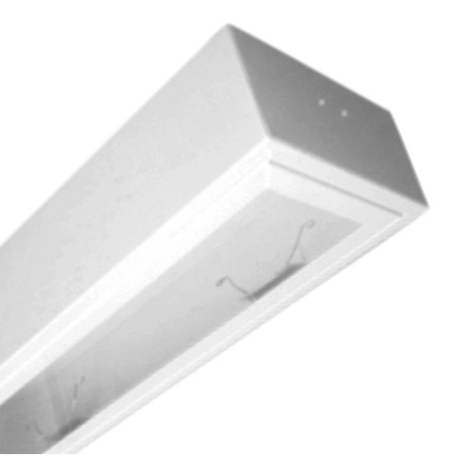 Máng đèn LED tán quang gắn nổi 1x18W DUHAL LLN 140