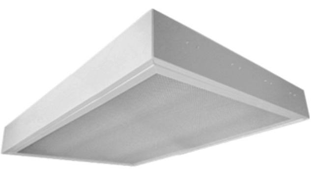 Máng đèn LED tán quang gắn nổi 3x18W DUHAL LLN 340