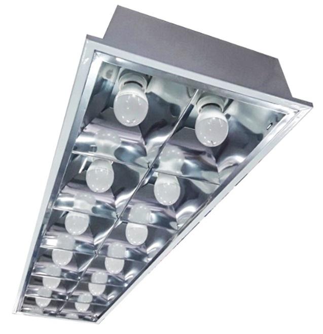 Máng đèn LED âm trần 60W DUHAL PQX125