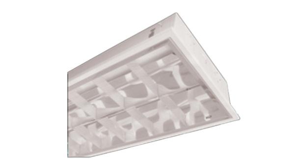 Máng đèn phản quang âm trần 2x14W DUHAL TDA 214