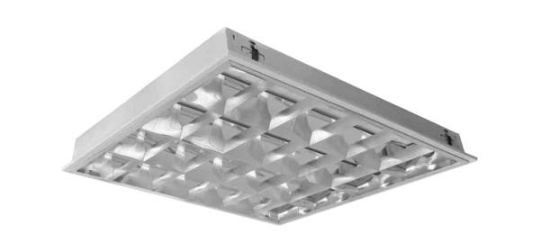 Máng đèn phản quang âm trần 4x14W DUHAL TDA 414