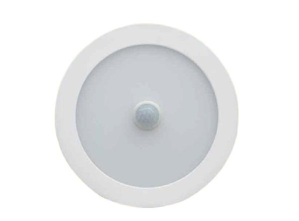Đèn LED âm trần cảm ứng hồng ngoại 12W KAWALED DLS158-12W-T/V