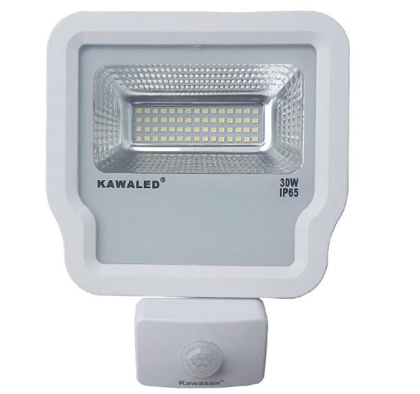 Đèn pha LED cảm ứng cao cấp 30W KAWALED FL1S-30W